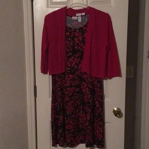 Kim Rogers Dress With Sweater